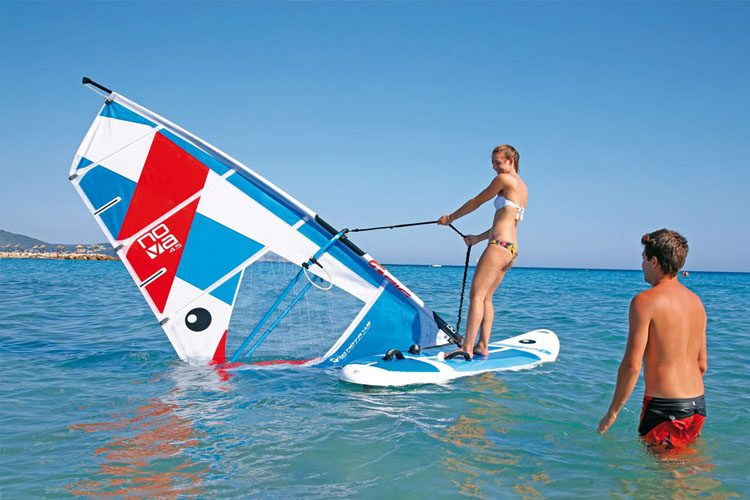 Windsurfing Croatia, intro course